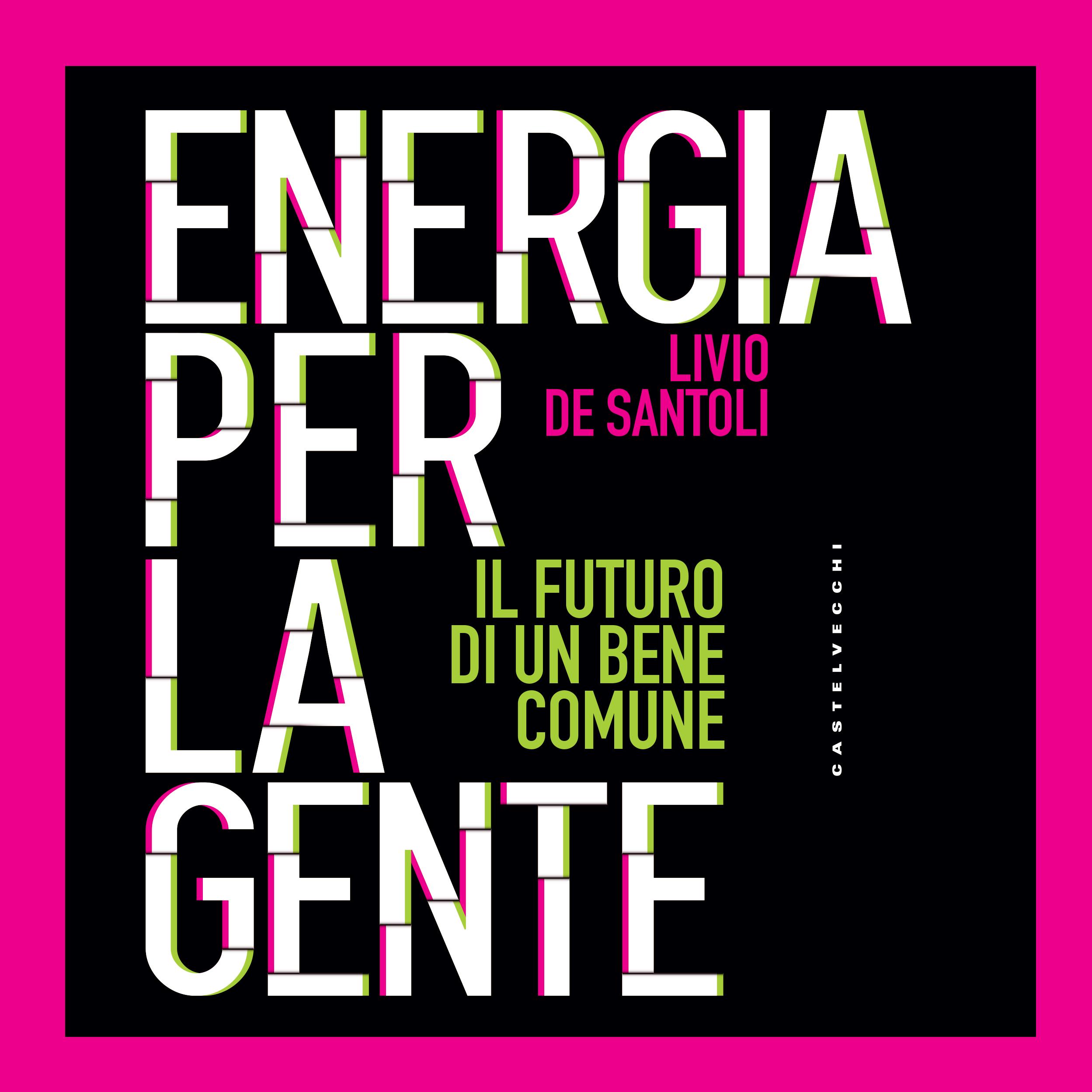 Energia per la gente cover book