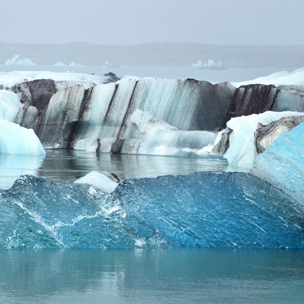 iceberg flottante